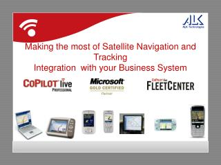 Making the most of Satellite Navigation and Tracking Integration  with your Business System