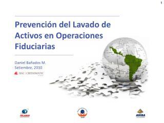Prevenci n del Lavado de Activos en Operaciones Fiduciarias