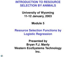 INTRODUCTION TO RESOURCE