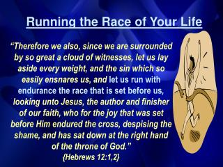 Running the Race of Your Life