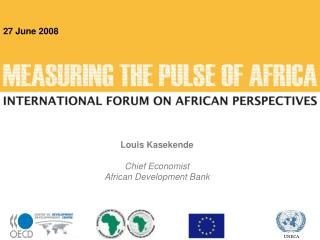 Louis Kasekende  Chief Economist African Development Bank