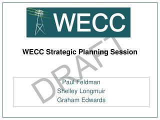 WECC Strategic Planning Session