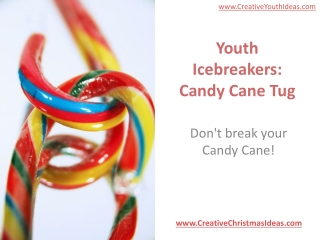 Youth Icebreakers: Candy Cane Tug