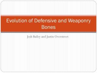 Josh Bailey and Justin Overstreet