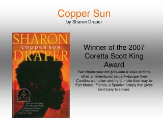 Copper Sun  by Sharon Draper
