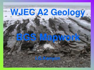 WJEC A2 Geology