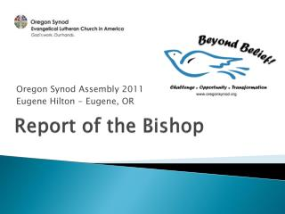 Report of the Bishop