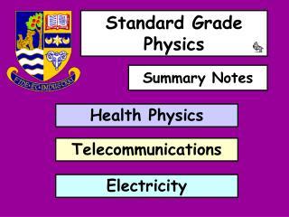 Standard Grade Physics