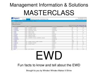 Management Information  Solutions