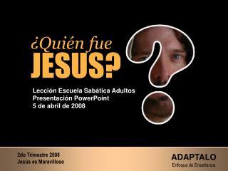 Qui n fue JESUS