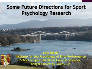 Lew Hardy Institute for the Psychology of Elite Performance School of Sport, Health  Exercise Sciences,  Bangor Universi