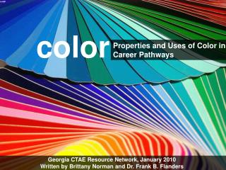 Properties and Uses of Color in Career Pathways