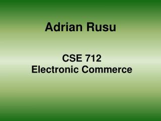 Adrian Rusu