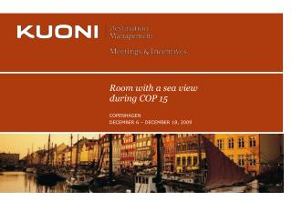 KUONI DESTINATION MANAGEMENT COPENHAGEN  1