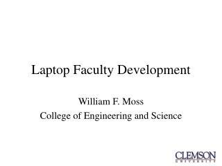 Laptop Faculty Development