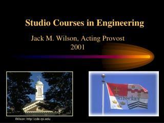 Studio Courses in Engineering