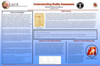 Understanding Bodily Awareness