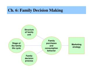 Ch. 6: Family Decision Making