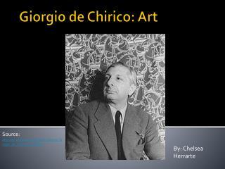 Giorgio de Chirico: Art