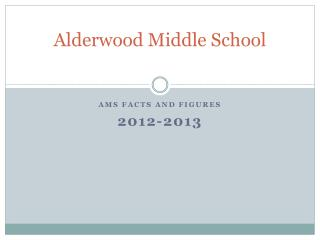 Alderwood Middle School