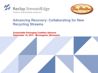 PRODUCT STEWARDSHIP  IN MINNESOTA