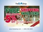 Winter 2012 Holiday Deals at TheLAShop