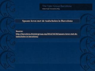 Barcelona Tyler Group News Articles