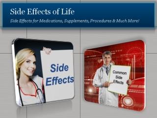 Zocor Side Effects