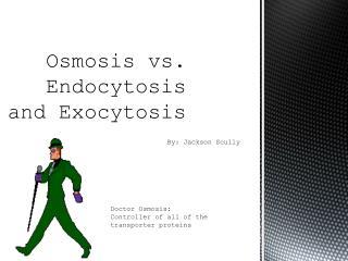 Osmosis vs. Endocytosis  and Exocytosis