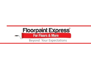 Floorpaint Express – For Floors and More