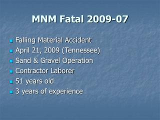 MNM Fatal 2009-07