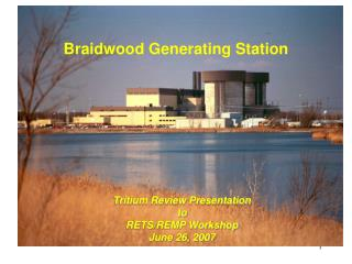 Braidwood Generating Station