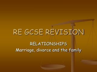 RE GCSE REVISION
