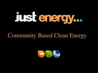 Community Based Clean Energy