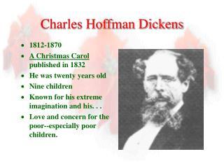 Charles Hoffman Dickens