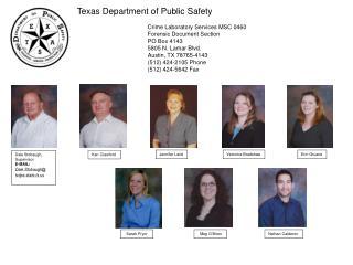 Dale Stobaugh, Supervisor E-MAIL:  Dale.Stobaugh txdps.state.tx