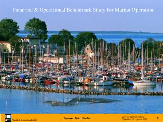 Financial  Operational Benchmark Study for Marina Operation