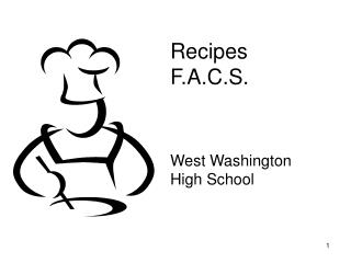 Recipes  F.A.C.S.