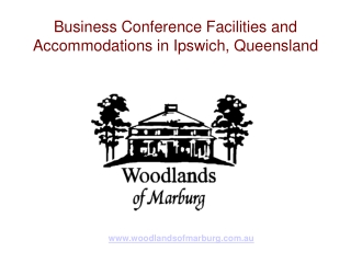 Business Conference Facilities and Accommodations in Ipswich