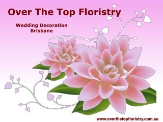 Wedding Decorator in Brisbane