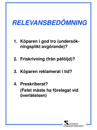 RELEVANSBED MNING