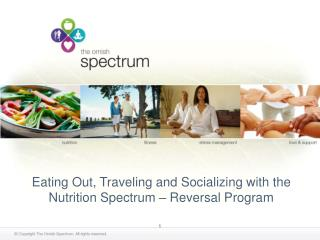 Eating Out, Traveling and Socializing with the Nutrition Spectrum   Reversal Program