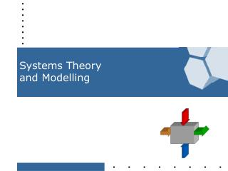 Systems Theory  and Modelling