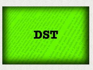 DST   Doen a Sexualmente                        Transmiss vel