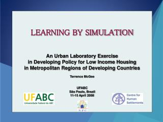 LEARNING BY SIMULATION