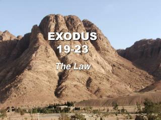 EXODUS 19-23