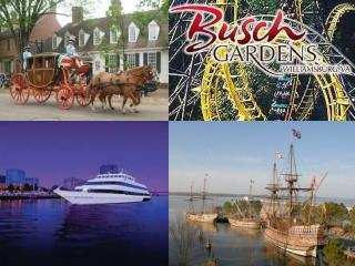 8th Grade Class Trip Williamsburg, VA June 4th, 5th  6th 2012 Monday, Tuesday,  Wednesday  of the last week of school