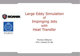 Large Eddy Simulation  of  Impinging Jets  with  Heat Transfer