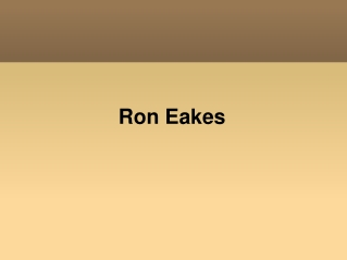 RonEakes