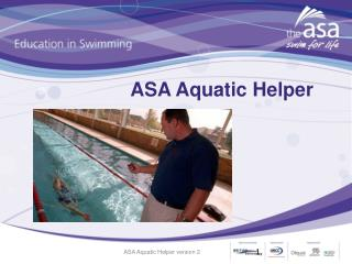 ASA Aquatic Helper
